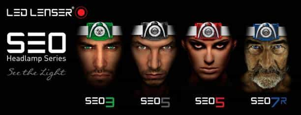 LED Lenser SEO Headlamp Series Models