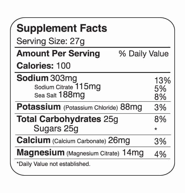 Tailwind Nutrition Endurance Fuel Lemon 2 Serving