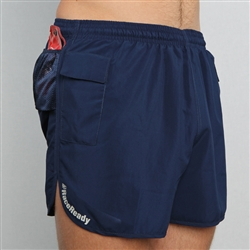 Raceready Active Men S V Notch Running Shorts With Pockets
