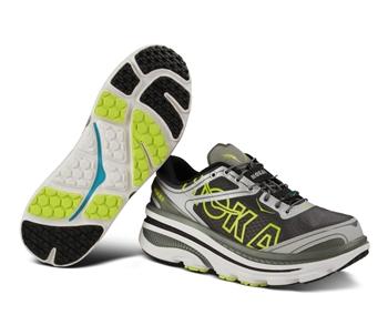 Mens Hoka BONDI 3 Shoes - White