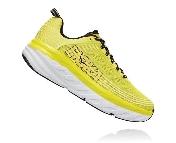 Men's Hoka BONDI 6 Road Running Shoes Dresden Blue Black | Ultramarathon Running Store