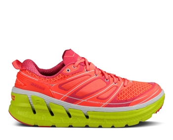 Running Shoes - Neon Coral / Citrus