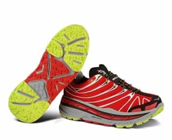 Men's Hoka STINSON TRAIL Shoes - Red