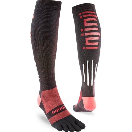 ac165b033c Injinji ULTRA COMPRESSION Socks - Over the Calf | Ultramarathon ...